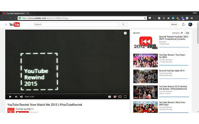 YouTube Sidebar Ratings