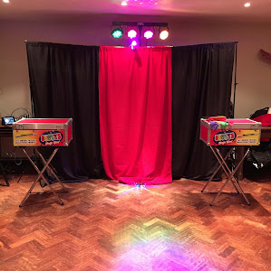 mini disco's by scotts magic at children's party