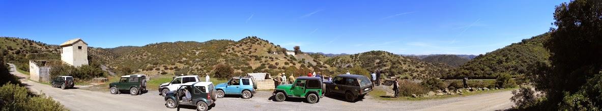 Photo: La caravana en Araceli.