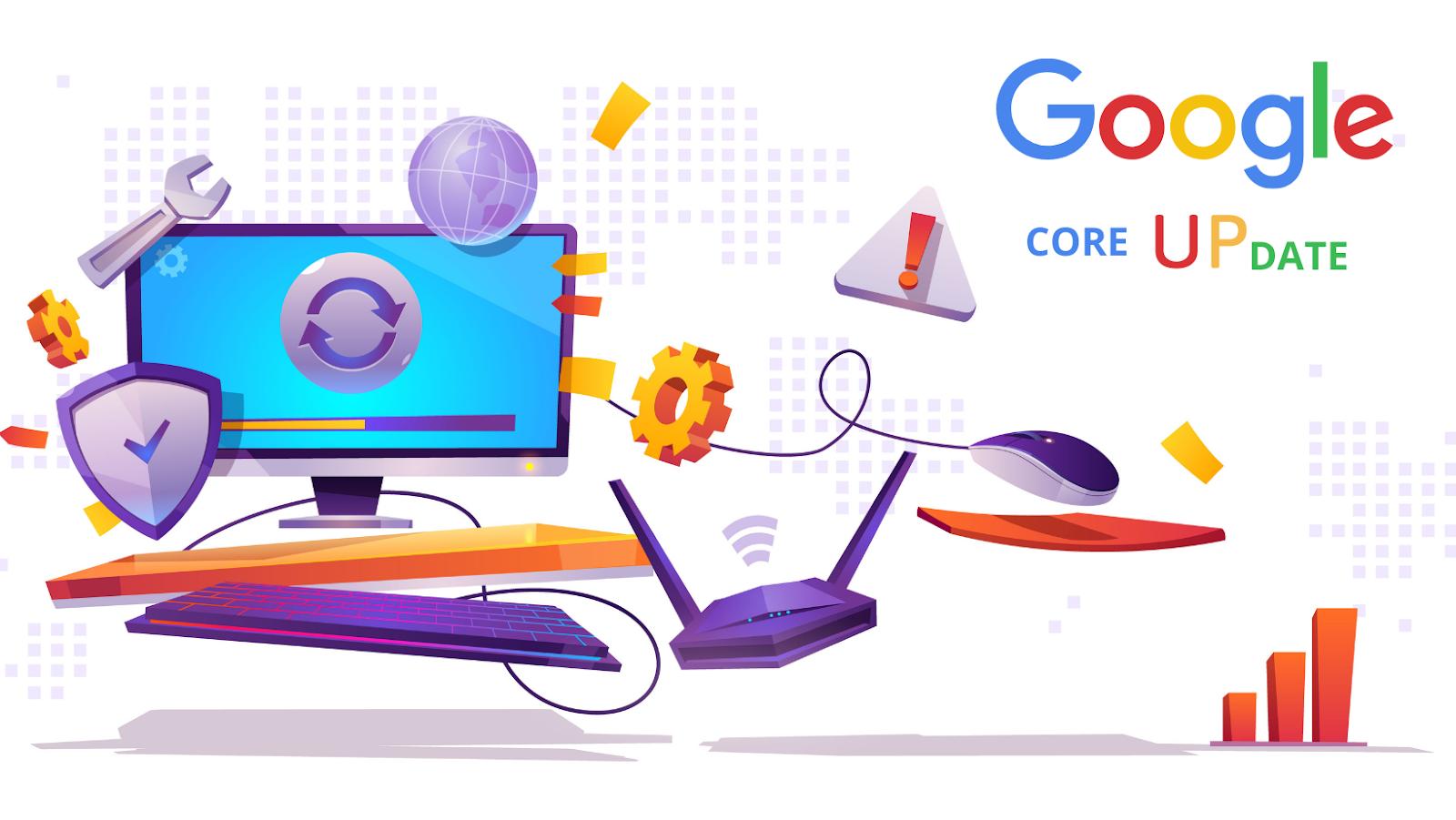 Google phát hành Google Core Update 7 2021