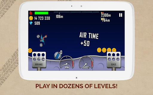 Tải Game Hill Climb Racing Mod gems