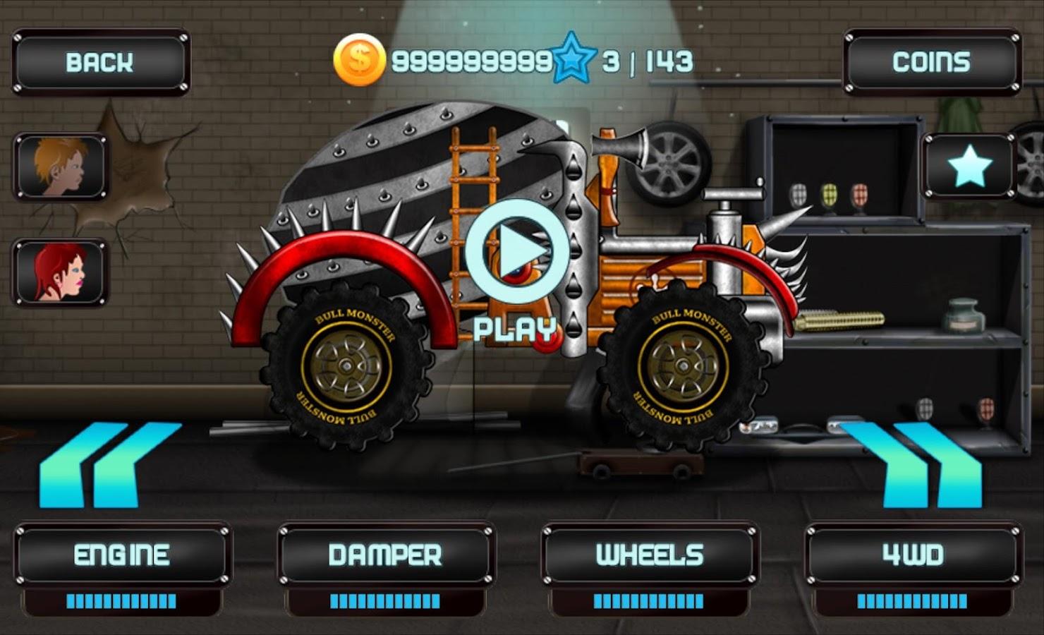 Zombie hill racing screenshot