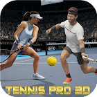 Tennis Play 3D:3Dテニス icon
