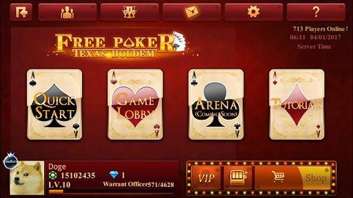 Free Poker-Texas Holdem 2.3.2.0 Mod screenshots 1