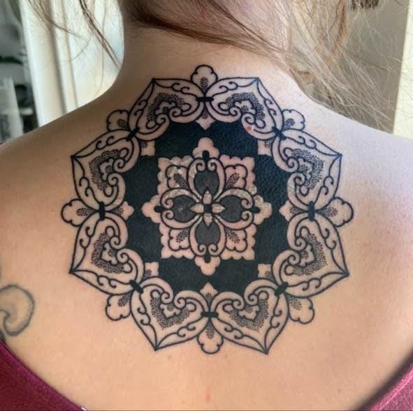 Karl Otto: Mandala tattoo