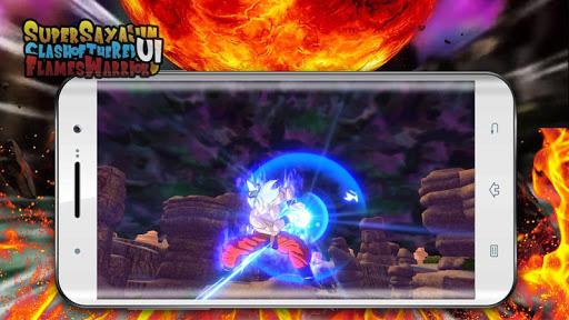 Super Sayajin UI Kakaroto VS Red Flame Warrior