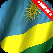 Rwanda Flag Wallpaper