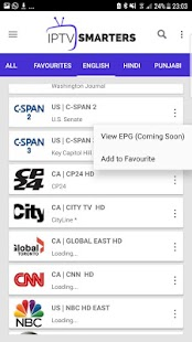 IPTV Smarters - náhled