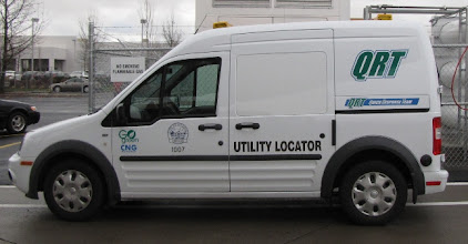Photo: The newest CNG vehicle in the City of Medford fleet.