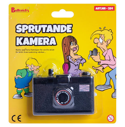 Sprutande kamera