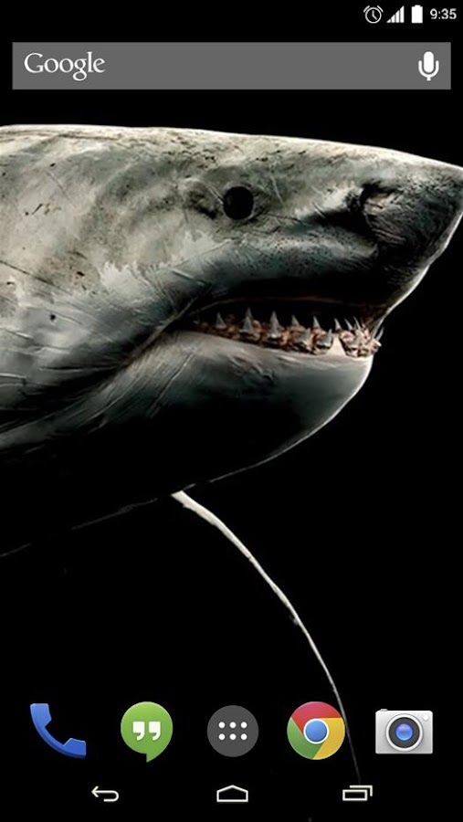 Shark 3d live wallpaper android apps on google play shark 3d live wallpaper screenshot voltagebd Images
