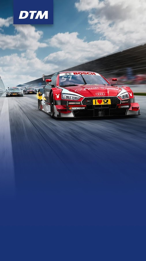 DTM – the official App 2017- screenshot