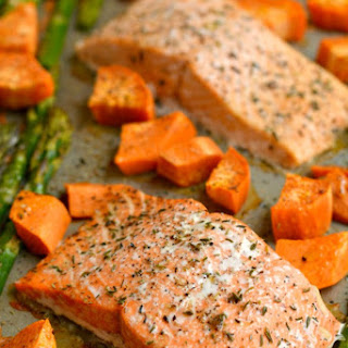 Baked Salmon And Sweet Potato Recipes