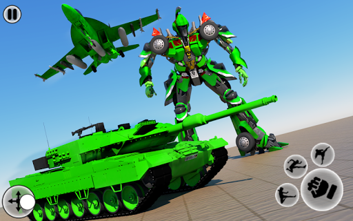 Robot Transform Tank Action Game apkpoly screenshots 1