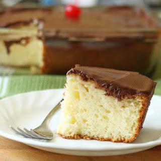 Gluten-Free Single-Layer Yellow Cake.