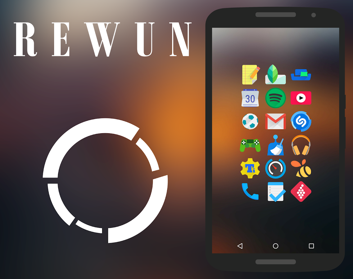 Rewun - Icon Pack- screenshot