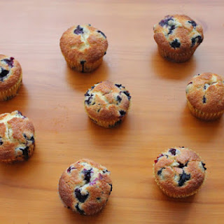 Blueberry Muffins.