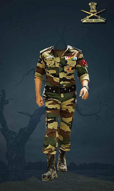 Indian Army Photo Suit Editor - Uniform changer - Android Apps on ...