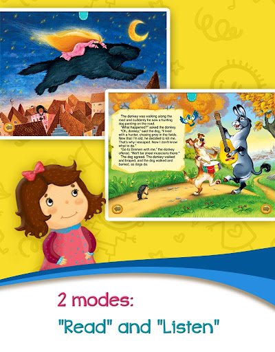 Azbooks - kid's fairy tales, songs, poems & games screenshot 14