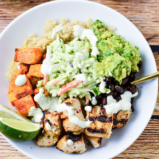 Cuban Chicken Quinoa Bowls