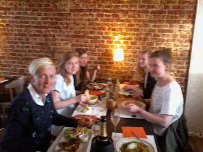 Photo: Afsluiten met een lekker etentje!