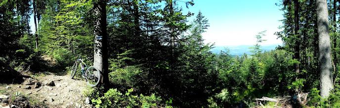 Photo: Dzisiejszy cel to zaliczenie nieznanej jeszcze części worka raczańskiego z Oszusem i słynnym niebieskim szlakiem. Zaczynamy w Złatnej i niebieskim szlakiem udajemy się na Krawców Wierch.