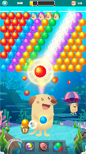 Bubble Shooter Dog - Classic Bubble Pop Game Screenshot