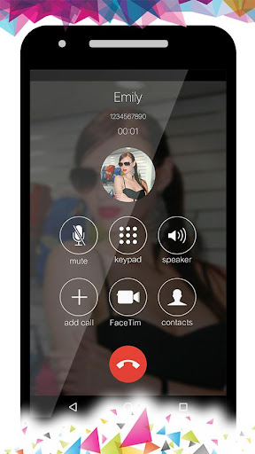 無料通讯AppのOS9フルスクリーンの発信者ダイヤラ|記事Game