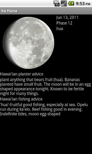 Ka Huna Hawaiian Moon Calendar Apk Download Apkpure Co