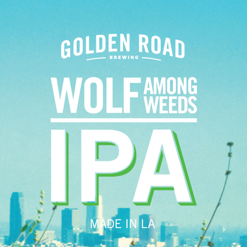 Logo of Golden Road Wolf Among Weeds