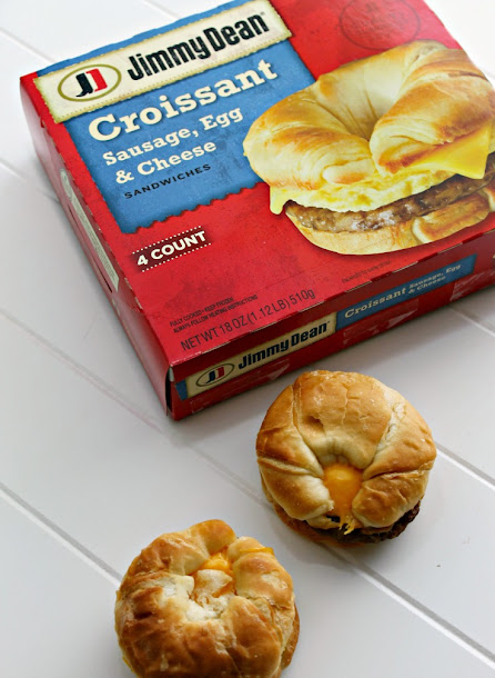 Jimmy Dean Croissant Sausage, Egg, & Cheese Sandwiches