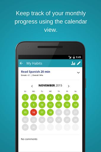 habitshare - habit tracker screenshot 3