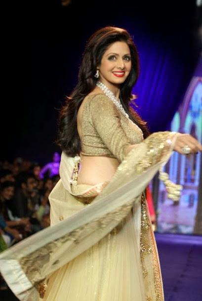 Sridevi Kapoor Fashion Show