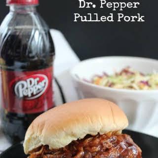 Slow Cooker BBQ Pork Recipes | Dr. Pepper Pulled Pork.