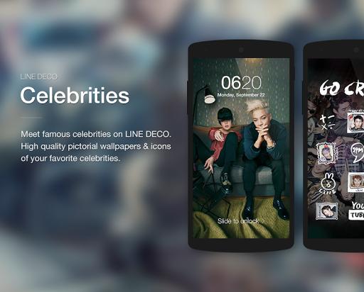Wallpapers, Icons - LINE DECO screenshot 5
