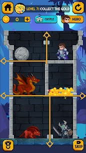 Rescue Hero: Pull the Pin Mod Apk 2.18 (Free Shopping) 3