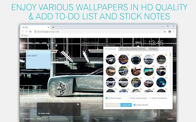 Future Supercar Wallpaper HD Future Sports Car New Tab