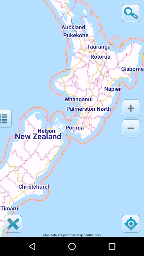 Map Of New Zealand Offline Android Apps On Google Play - Map of new