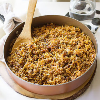 Lentil with Rice Mujadara Recipe