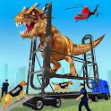 US Police Multi Level Animal Transporter Truck icon