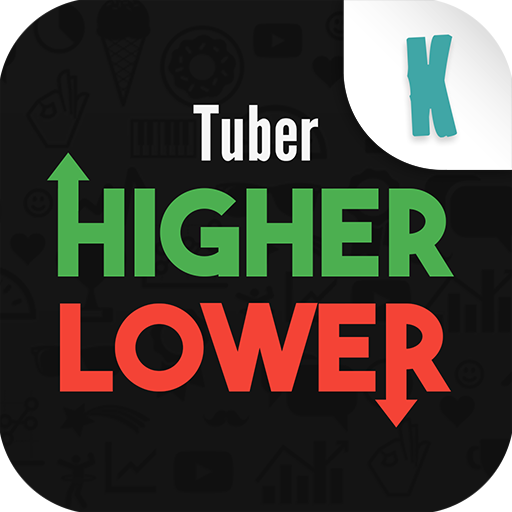 Tuber Higher Lower (game)