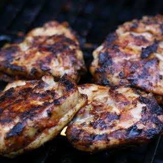 Grilled Salsa Chicken.