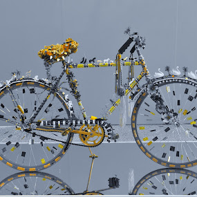 Art of the Bike by Gary Ambessi - Artistic Objects Other Objects