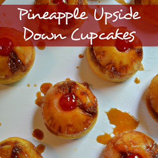 Pineapple Upside Down Cupcakes Recipe