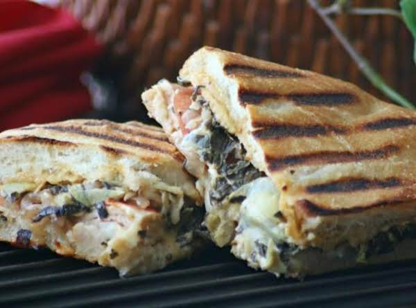 Turkey Artichoke Panini (just Like Panera's)