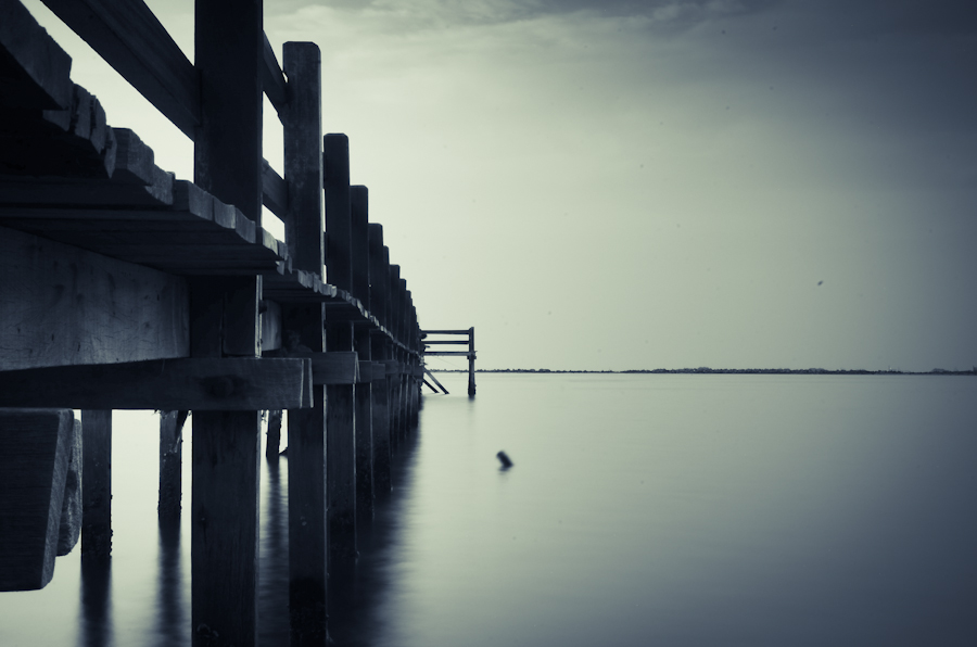 Silent Bridge by Satyo Ariadi - Landscapes Waterscapes