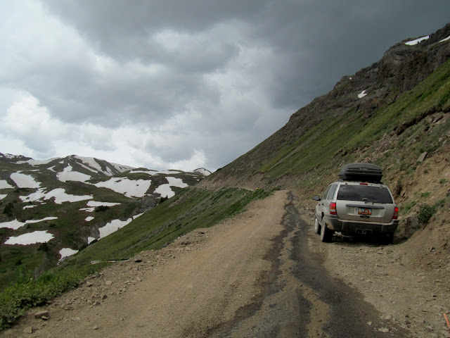Dark clouds over Engineer Pass