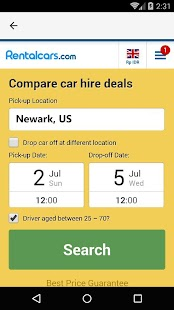Newark Car Rental, US - náhled
