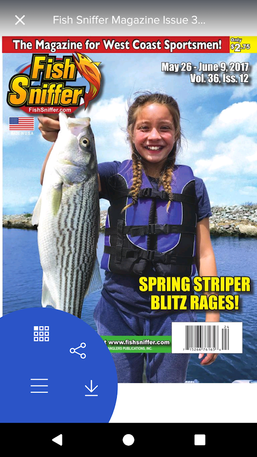 Fish sniffer magazine android apps on google play for The fish sniffer