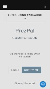 PrezPal - náhled